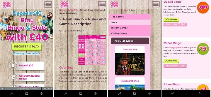 888 bingo app review
