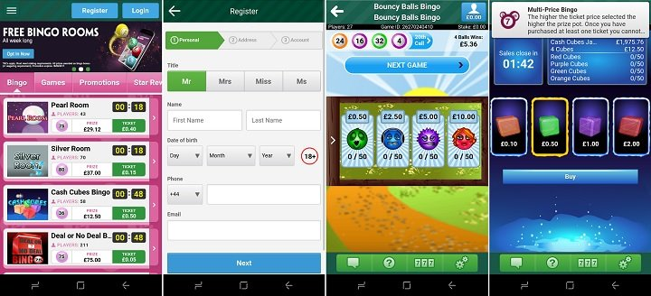 Review of the Paddy Power bingo app