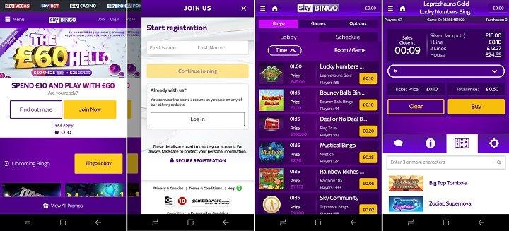 Download Sky bingo Android app