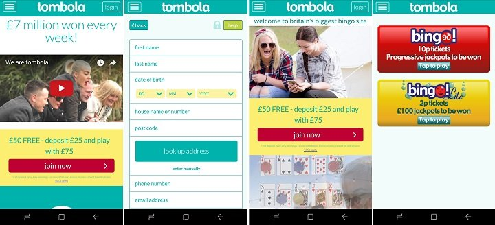 Download Tombola bingo Android app