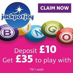 £25 free bingo bonus