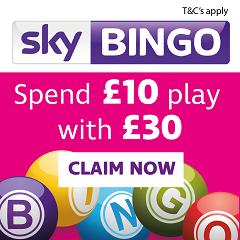 £30 free bingo bonus