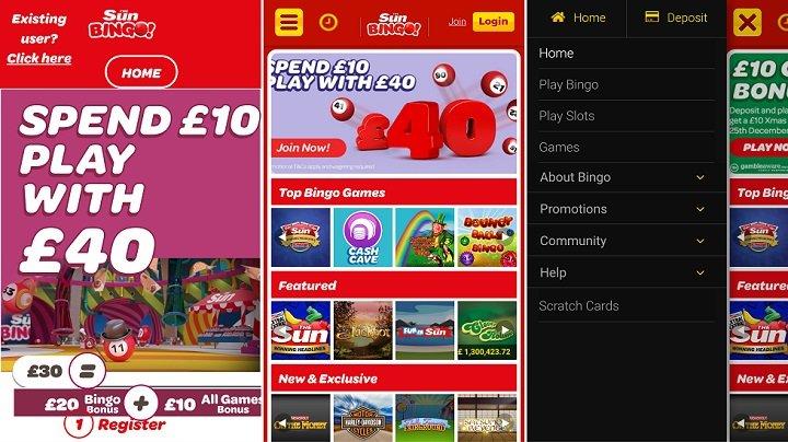 How to download The Sun bingo app
