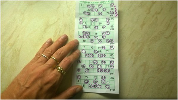 Bingo ticket