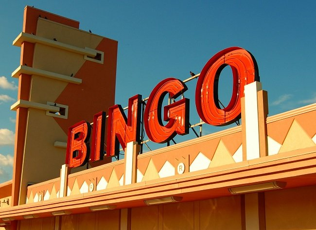 bingo hall - bricks and mortar