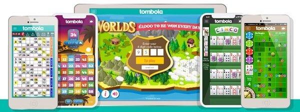 Games with tombola bingo